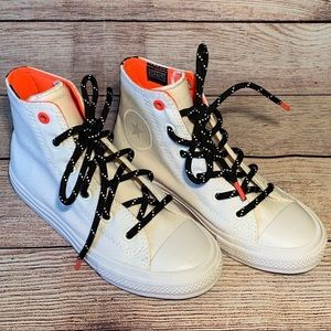 Converse Chuck Taylor White High Tops Sneakers